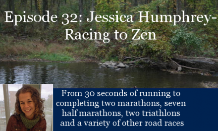 TCR032 | Jessica Humphrey: Finding Peace on the Run