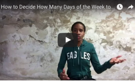 TCR067   Coach's Corner: How to Decide How Many Days a Week to Run