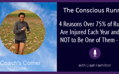 TCR099 | Coach's Corner: 4 Reasons Over 75% of Runners Are Injured Each Year and How NOT to Be One of Them – Part 1